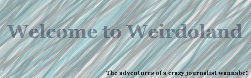 Welcome to Weirdoland