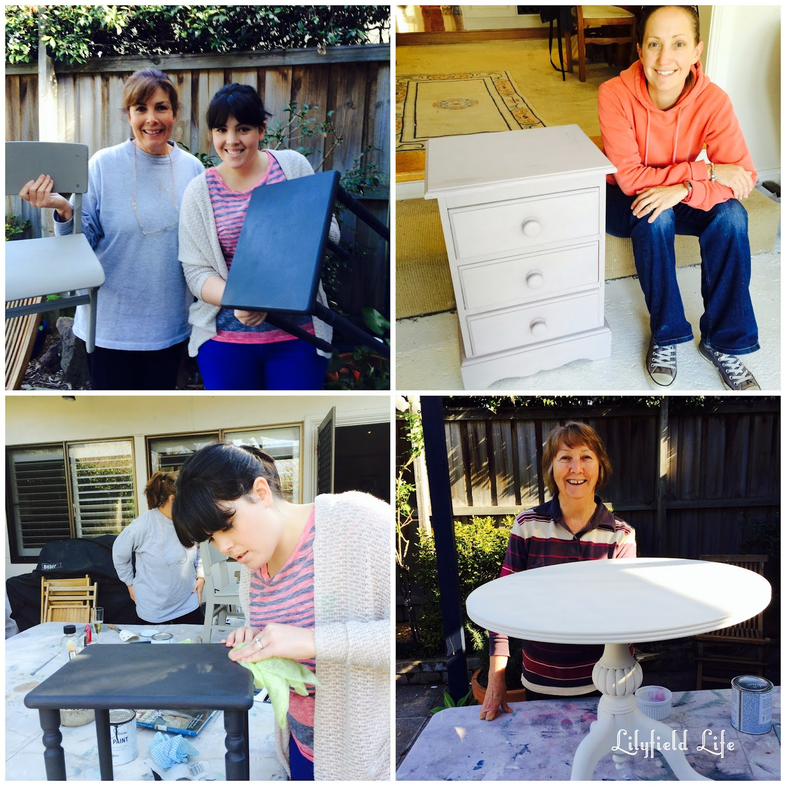 learn to paint furniture class with Lilyfield Life Sydney