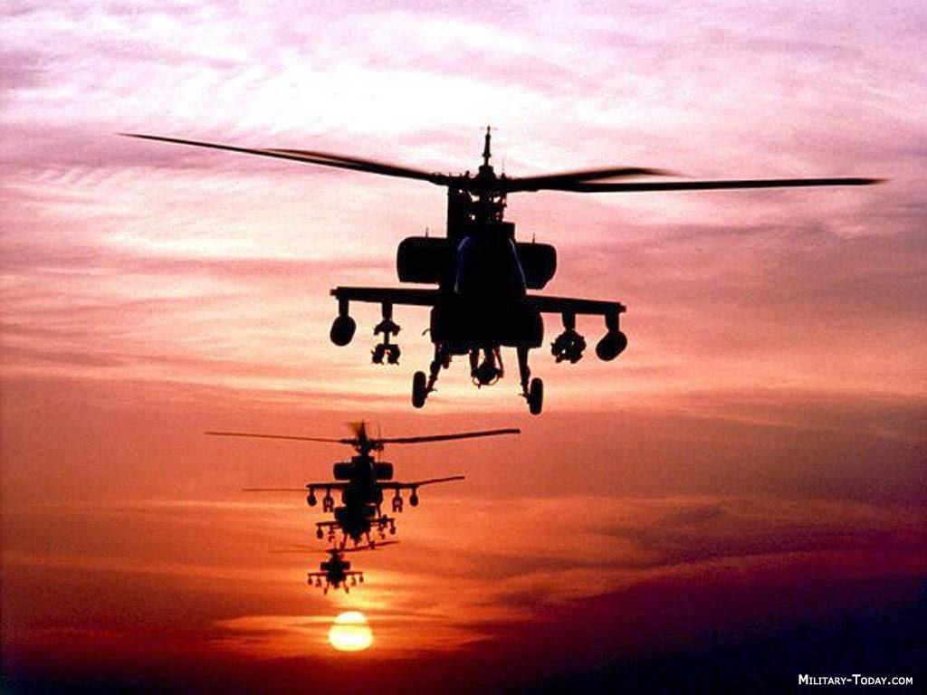TNI Mulai Latih Calon Pilot Helikopter Apache