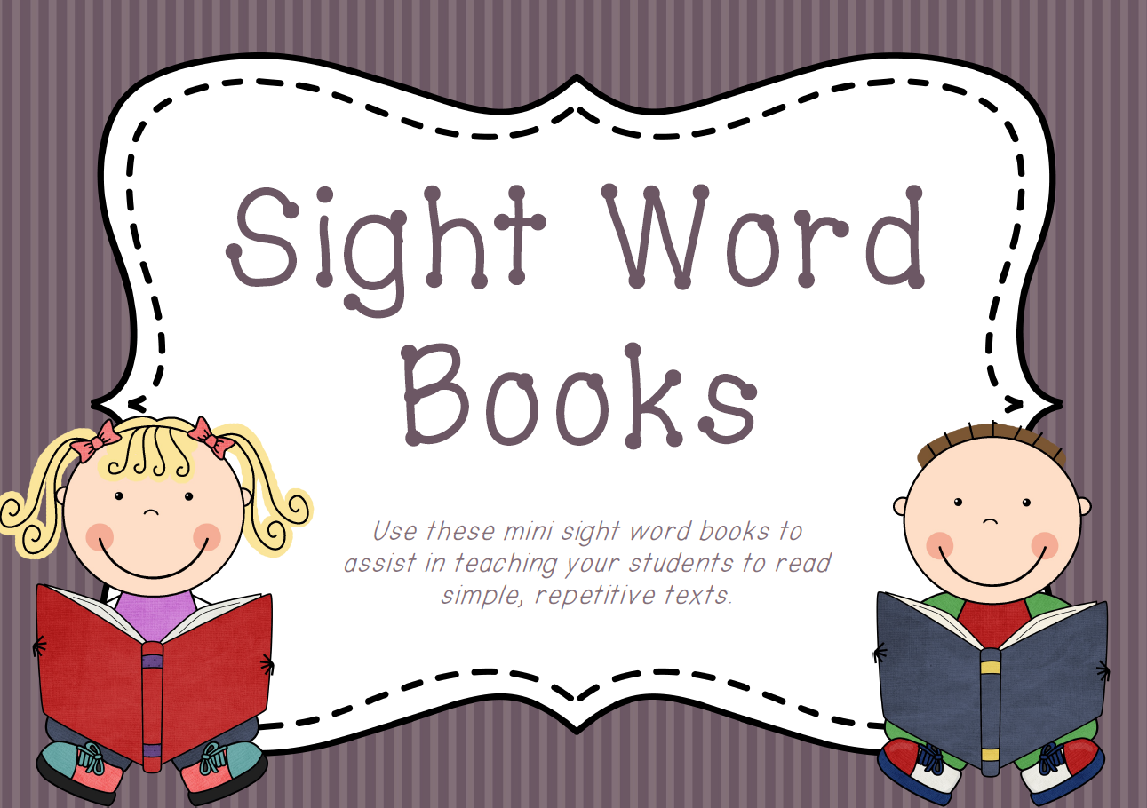 Impeccable image within printable sight word book
