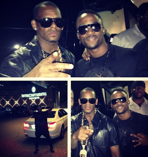 Exclusive Photos ; Iyanya Meets Rkelly