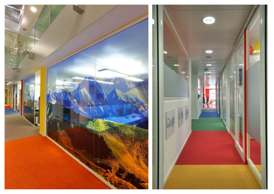 google munich office. fine munich creative wallpapers and long corridors are the highlight of googleu0027s  munich office inside google office d