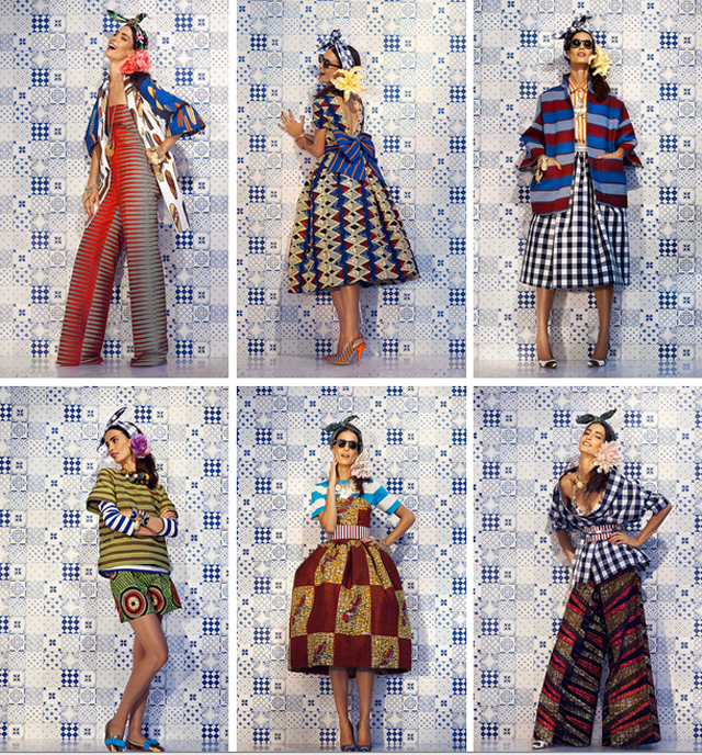 STELLA JEAN SPRING/SUMMER 2014 READY-TO-WEAR Ciaafrique-african print outfits