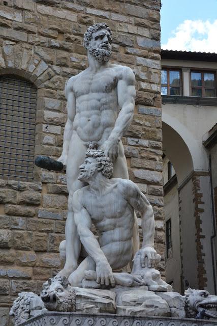 Palazzo Vecchio Florence Hercules Cacus