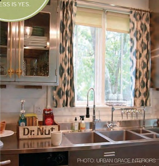 Curtain Designs For Kitchen Windows: Kitchen Window Treatment Options