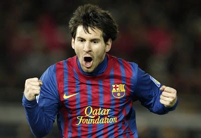 Lionel Messi Barcelona 2011 - 2012