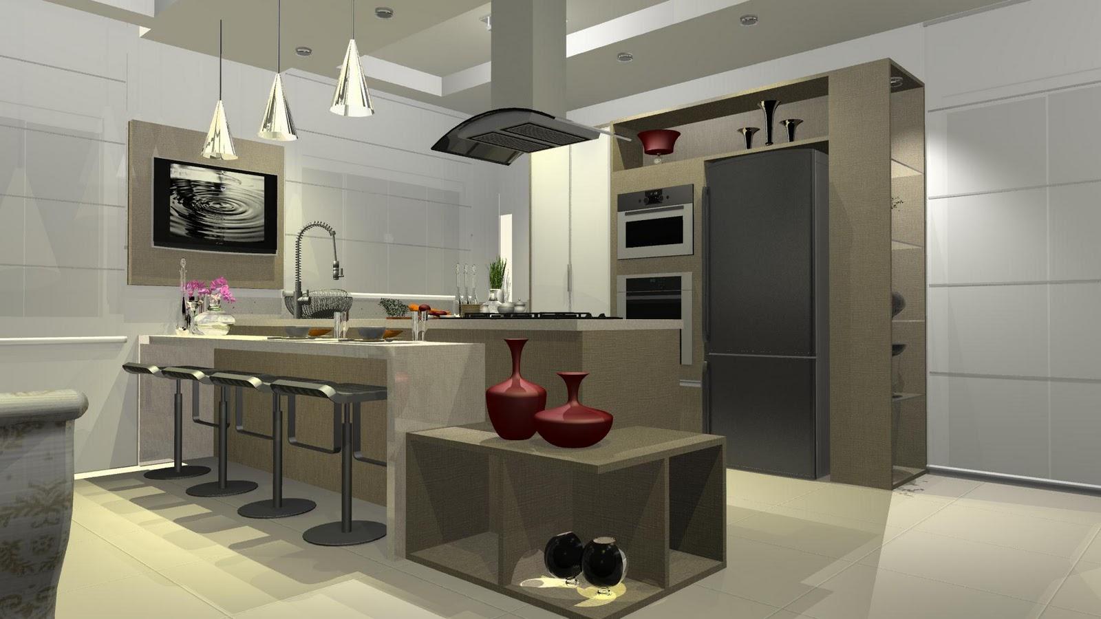 Wibamp Com Cozinha Pequena Gourmet Id Ias Do Projeto Da Cozinha