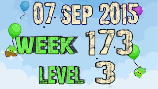 Angry Birds Friends Tournament level 3 Week 173
