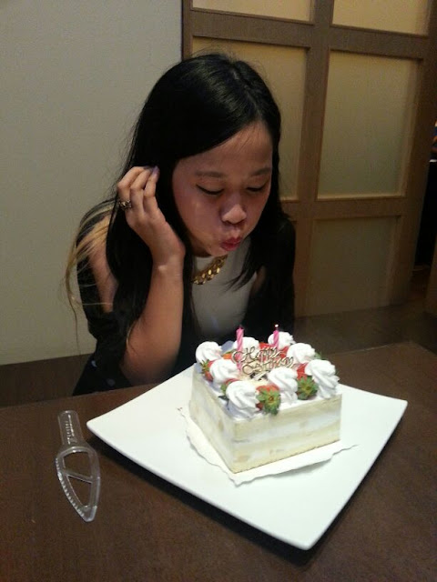 NIHONKAI Japanese Restaurant / Birthday celebration pt 2