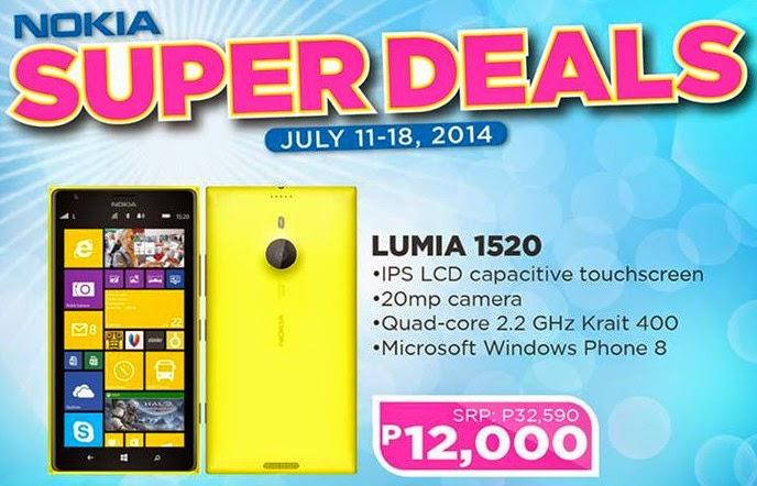 Nokia Lumia 1520 Philippines, Nokia Abenson Sale