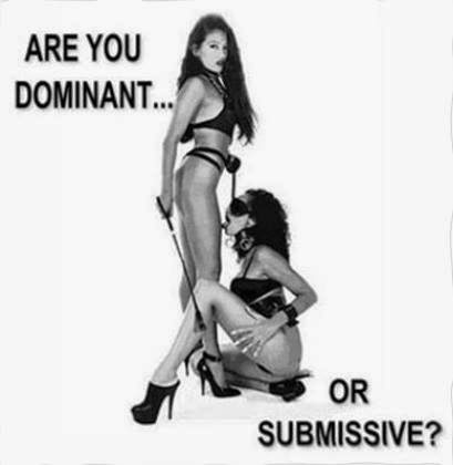 Dominant or submissive