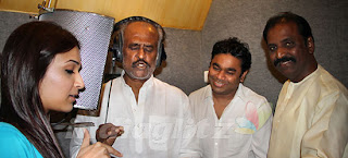 Rajinikanth singing for Kochadaiyaan