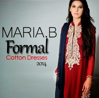 Maria B Formal Cotton Dresses