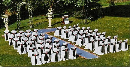 Cadeiras de plástico para o cerimonial 2