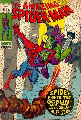 Amazing Spider-Man #97, Green Goblin drugs issue