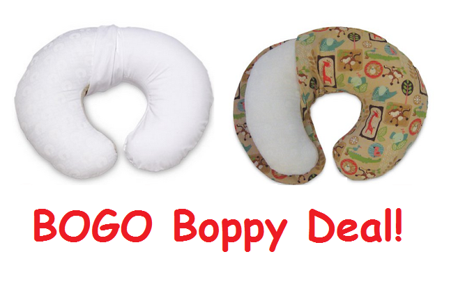 Buy 1 Boppy Get A FREE Slipcover at Amazon!  (I LOVE the Boppy!)