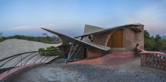 Apuntes revista digital de arquitectura casas curvas y for Formas de techos para casas