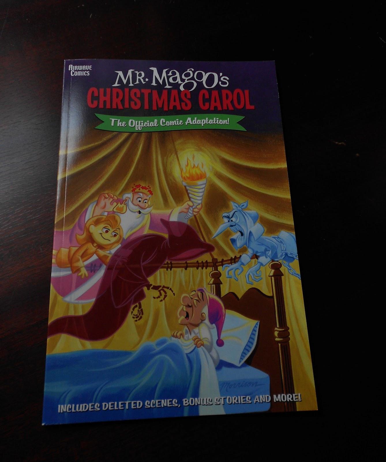 Christmas TV History: Mr. Magoo\'s Christmas Carol comic book (2002)