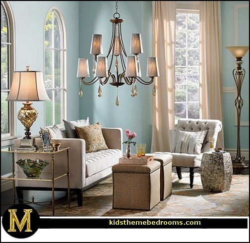 Decorating theme bedrooms maries manor old hollywood for Hollywood glam living room ideas