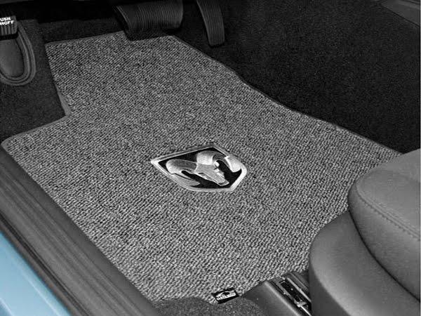 auto accessories: dodge charger floor mats.