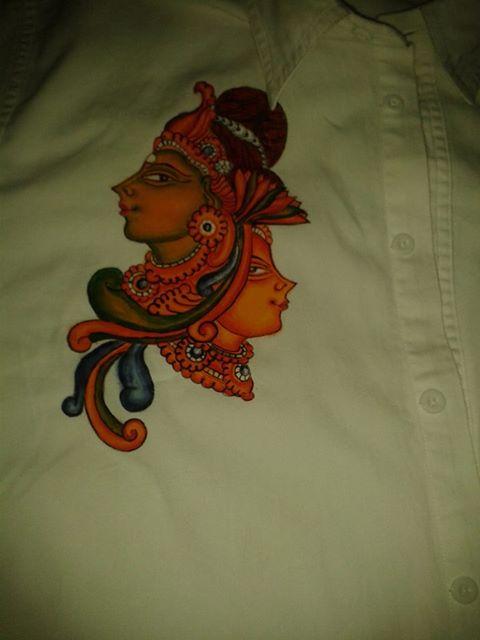 39 kerala mural design on kerala saree 39 for Mural painting designs