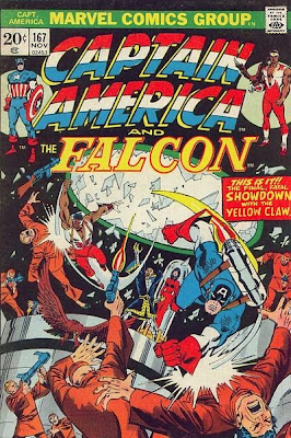 Captain America and the Falcon #167, the Yellow Claw