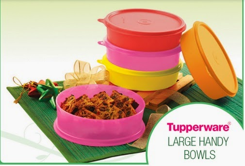 Tupperware Large Handy Bowls