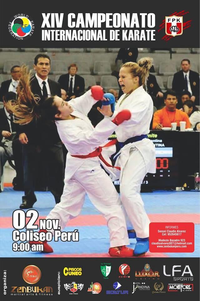 XIV CAMPEONATO INTERNACIONAL DE KARATE  Tacna-Perú