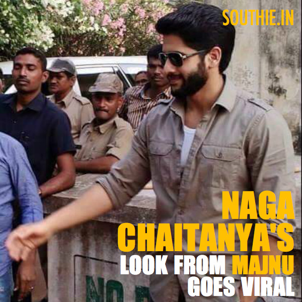 Naga Chaitanya's Look in Majnu goes Viral. The pictures are a rage amongst fans and they are expecting a good romantic entertainer.