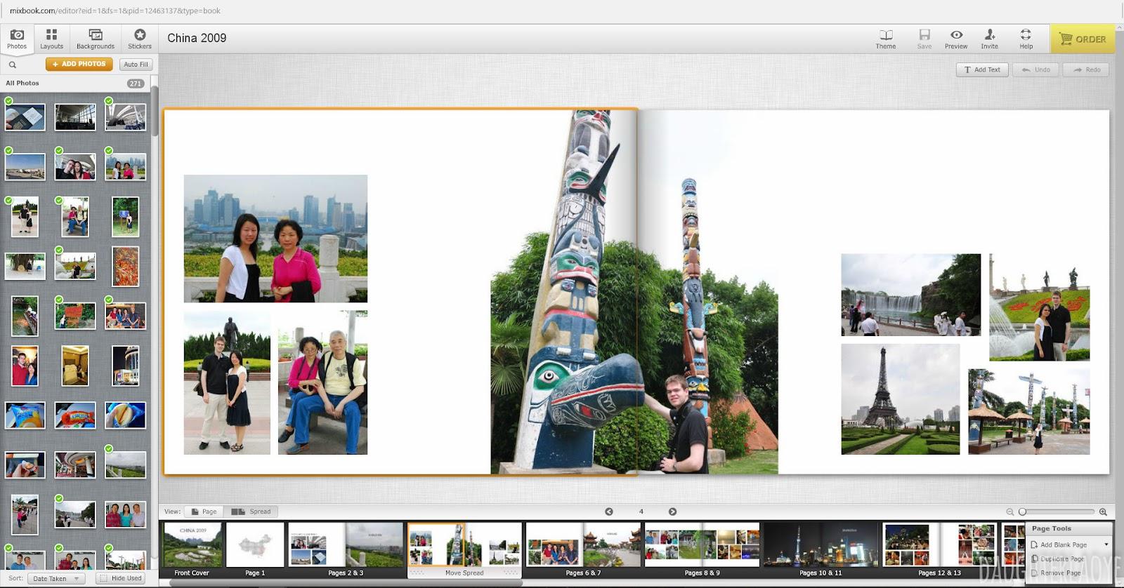 Daughter Lao Ye: Photobook Review: Mixbook (Premium Lay Flat Hardcover)