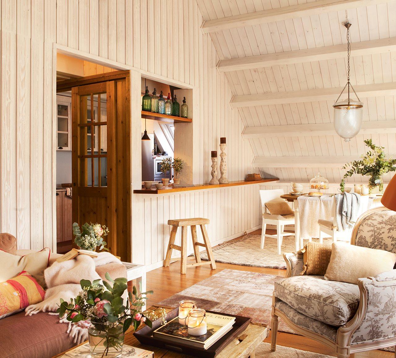 Clasic elegant într-o cabană din Spania