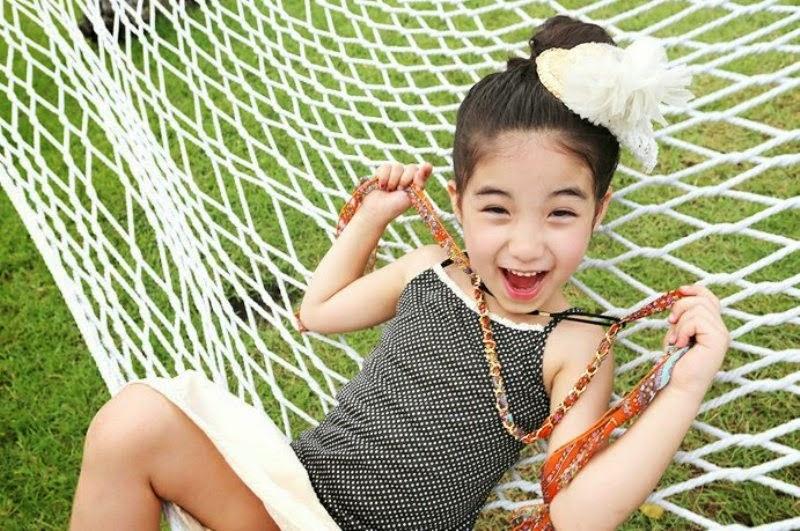 Foto Aleyna Yilmaz salah satu kategori anak paling cantik di dunia