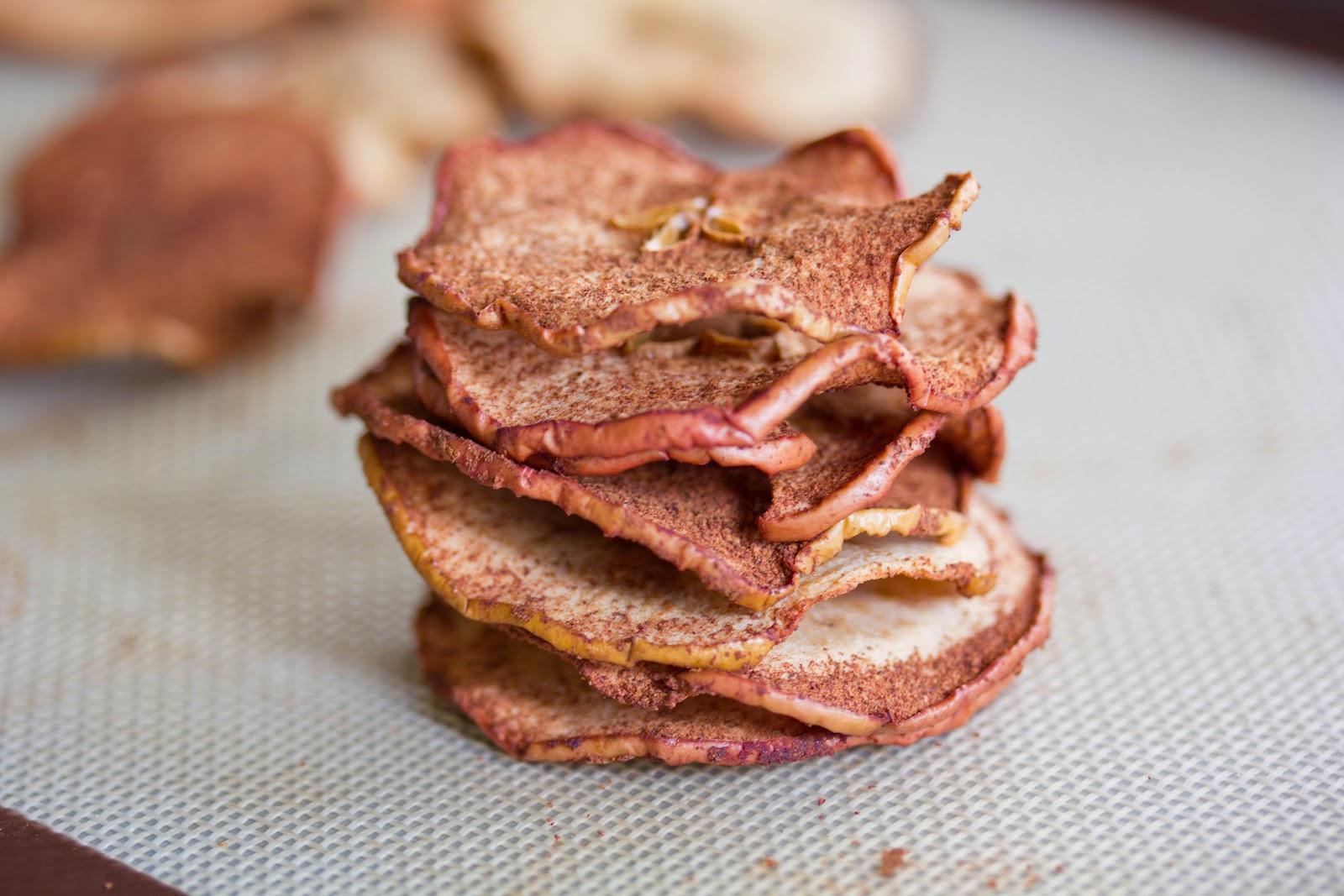 Apple Chips - A Zesty Bite