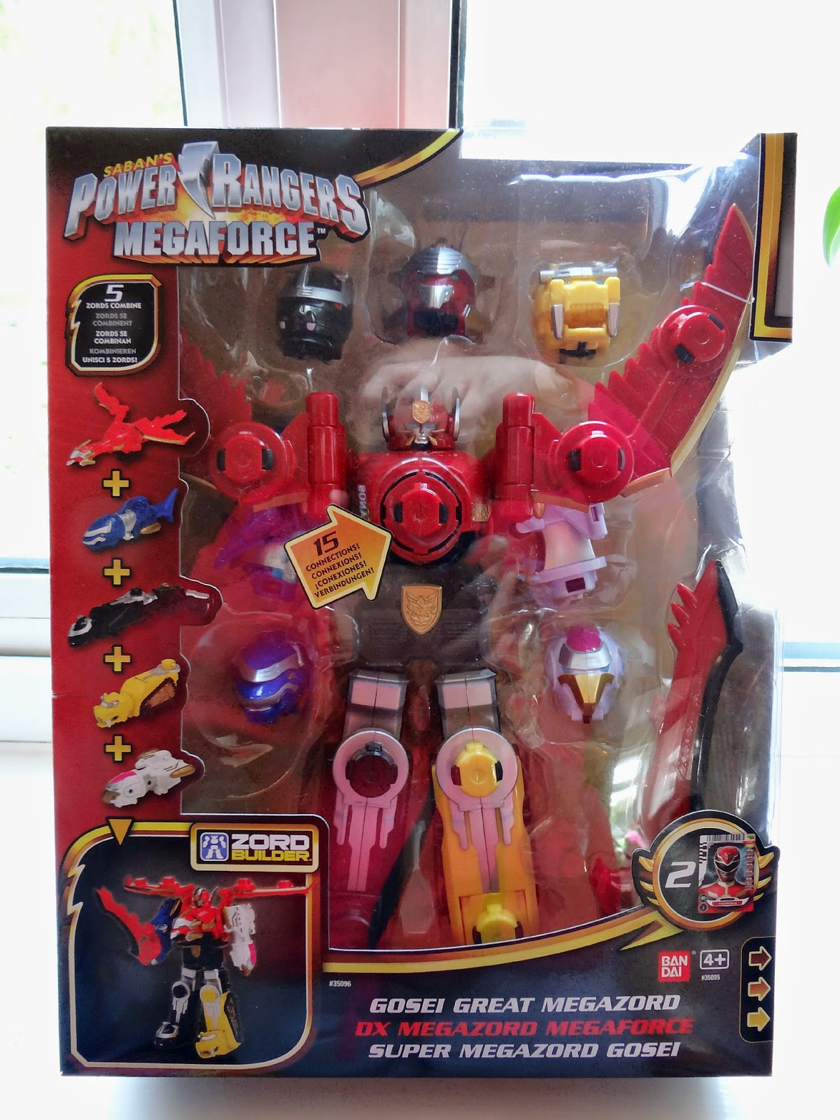 Bandai Power Rangers, Power Rangers Megaforce, Megazord