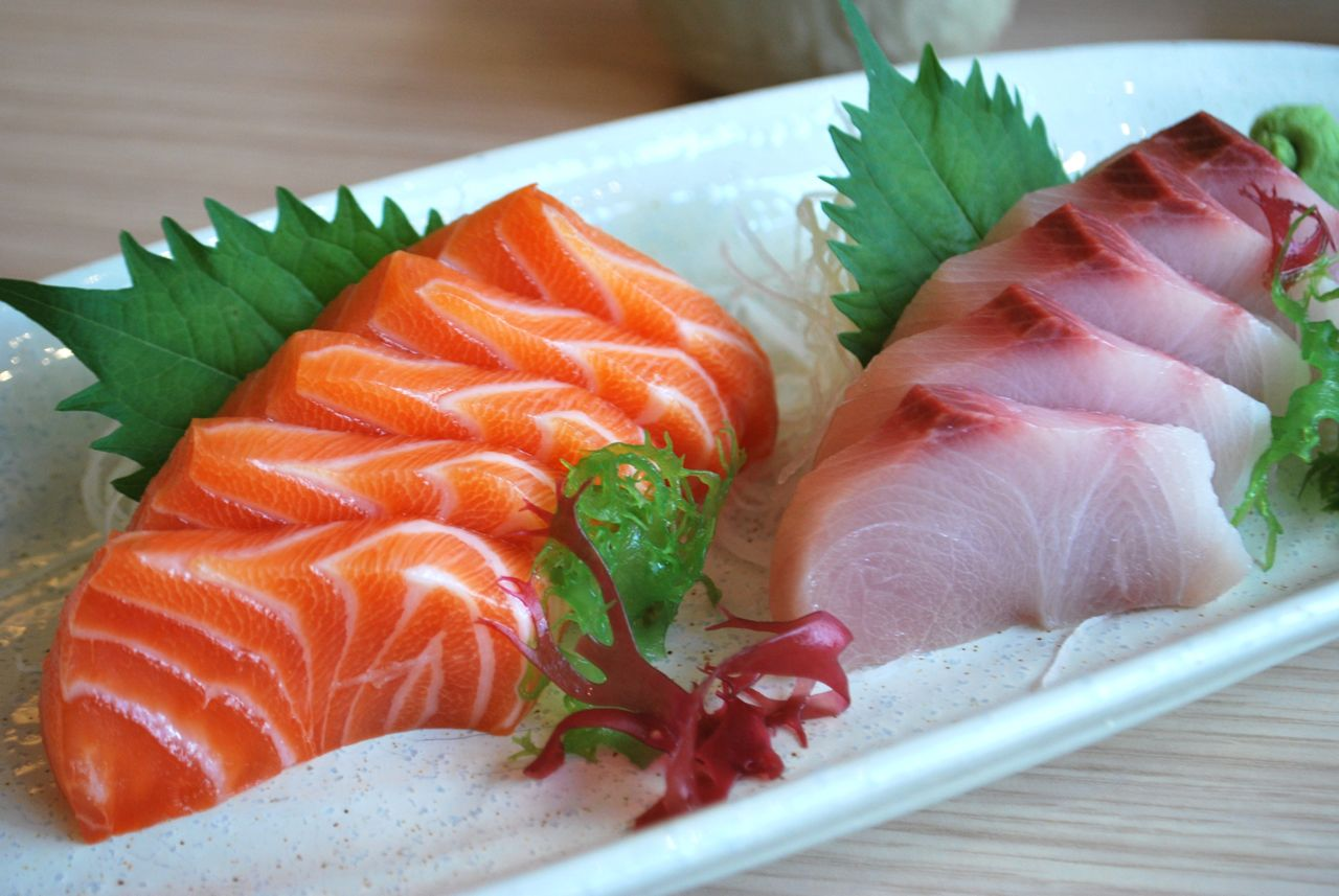Scrumpdillyicious yamato the best sushi sashimi in for Best fish for sushi