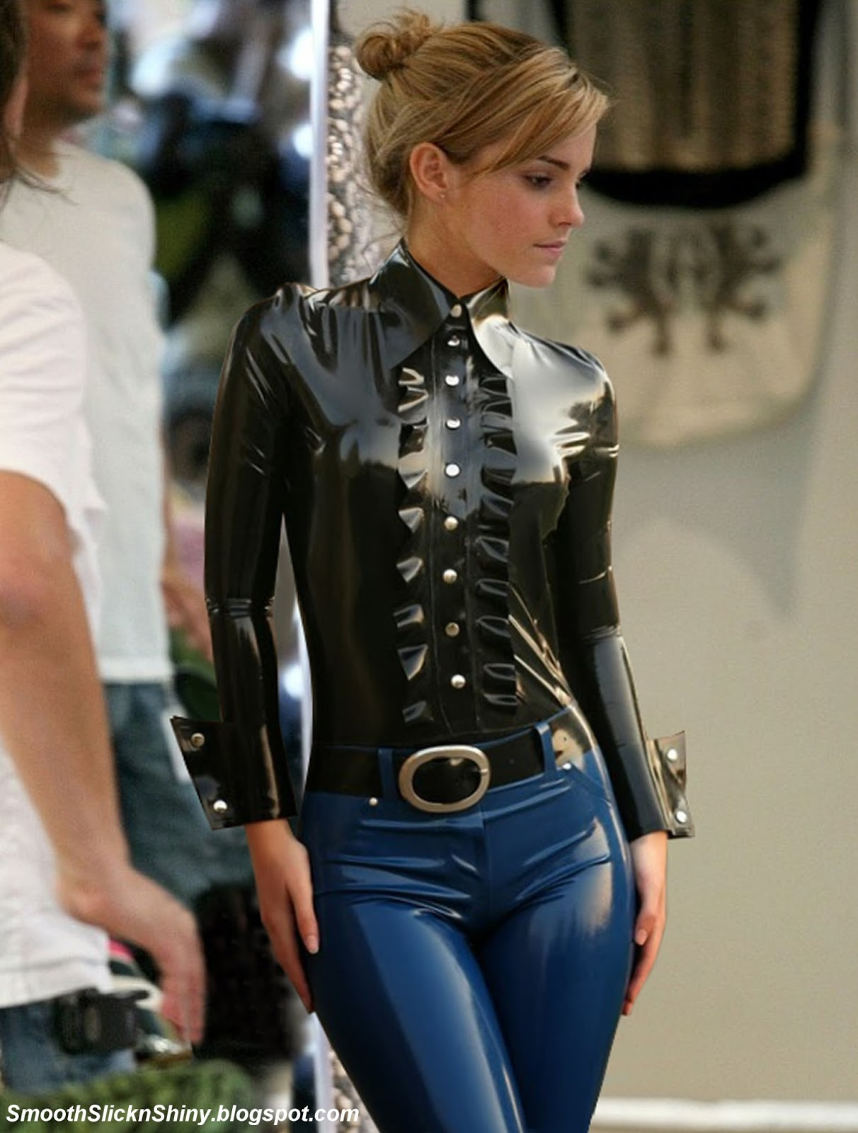 Shiny Latex Pants 2