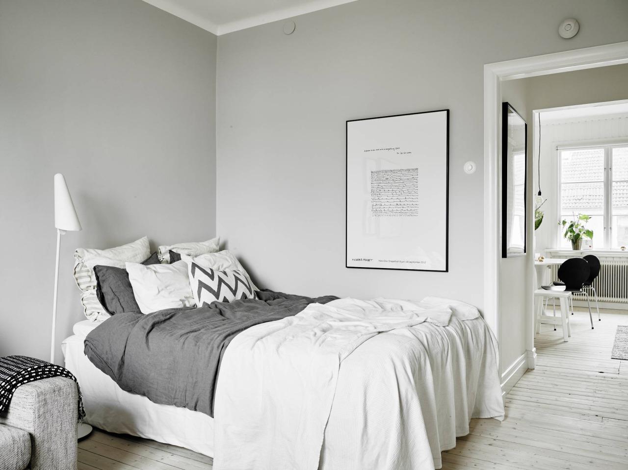 piso de madeira pintado de branco traz mais claridade e uniformidade  #495A33 1280 959