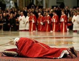 paus benedictus menbungurkan diri masuk islam img