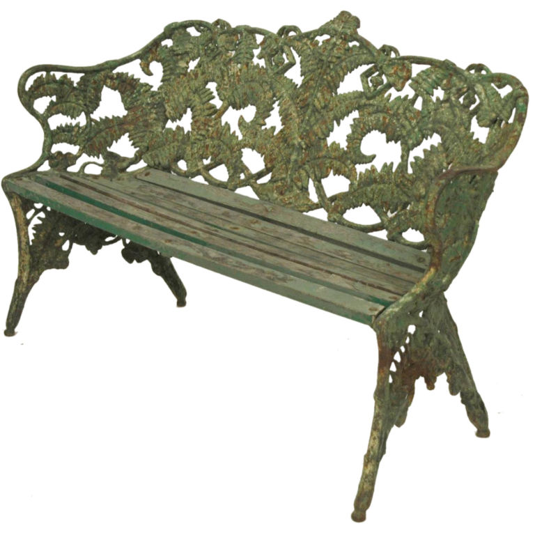 Gary C Sharpe Decorative Iron Garden Furniture