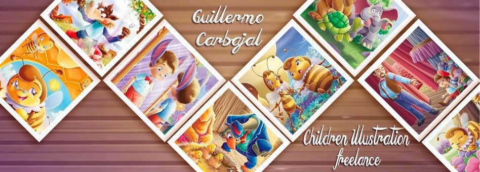Retoucher retocador children illustrator Ilustrador Infantil Freelance Peru Guillermo Carbajal