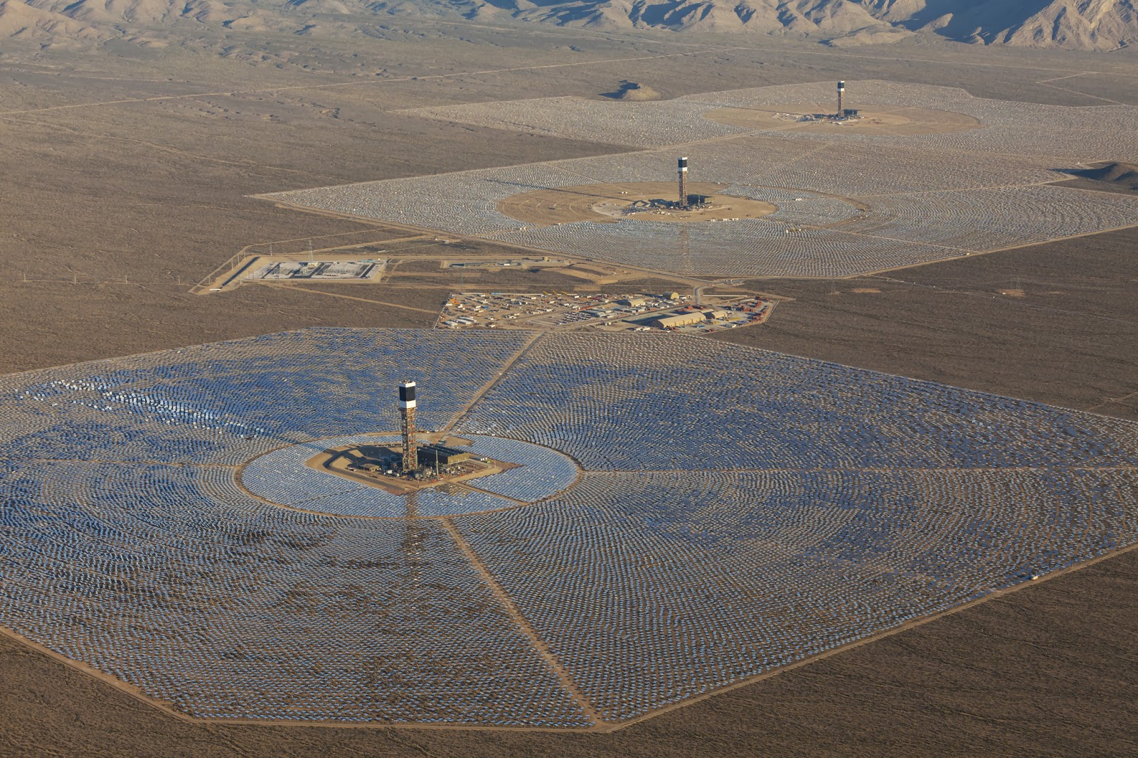 Simple Solutions For Planet Earth And Humanity Is There A Future Ivanpah Solar Power Facility Electricity Generation System Thermal