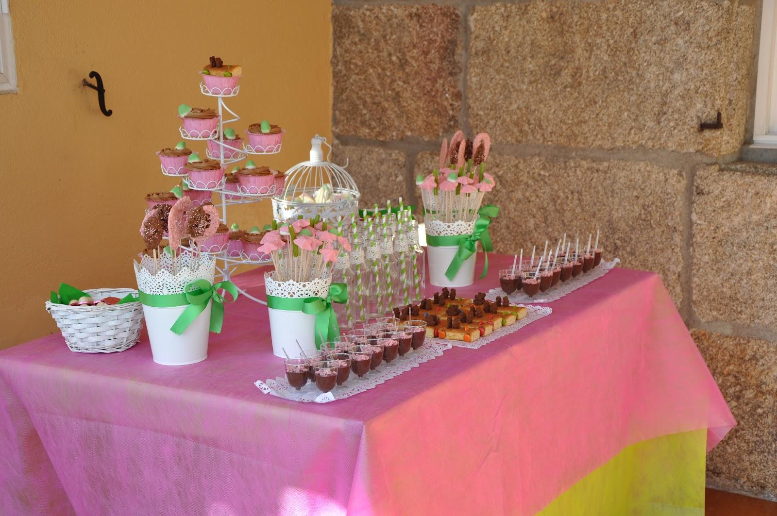 La mesa dulce del cumplea os de in s las historias de mar a for Mesas dulces cumpleanos