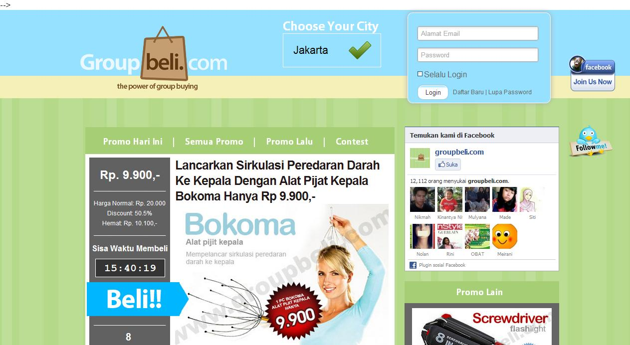 11 daftar website kupon amp voucher diskon indonesia