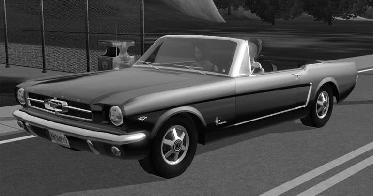 My Sims 3 Blog: Classic Ford Mustang Convertible by Bloom