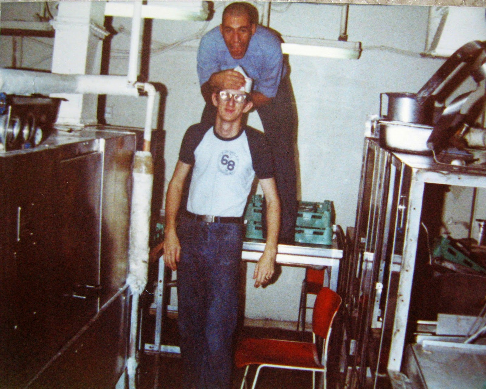 Tommy Mondello USS Nimitz mess deck duty December 1982
