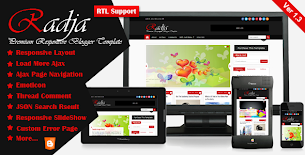 MKRflat - Responsive Magazine/News Blogger Theme - 12