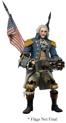 NECA Bioshock Infinite George Washington Heavy Hitter Patriot Figure