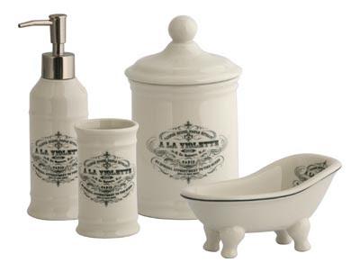 Vintagehomecollection set da bagno
