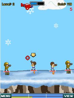 Game Gunbound phiên bản cho điện thoại Java