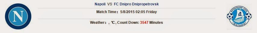 Kèo thơm cá cược Napoli vs Dnipro